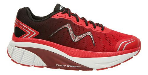Mens MBT Zee 17 Running Shoe - Red/Black 8