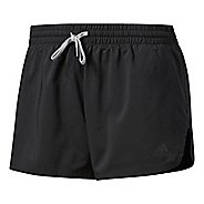 Womens Adidas Woven Split Lined Shorts