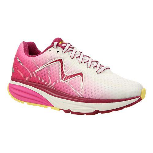 Womens MBT Simba 17 Walking Shoe - Pink/Yellow 8
