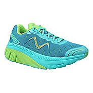 Womens MBT Zee 17 Running Shoe - Teal/Green 7.5