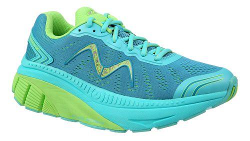 Womens MBT Zee 17 Running Shoe - Teal/Green 11