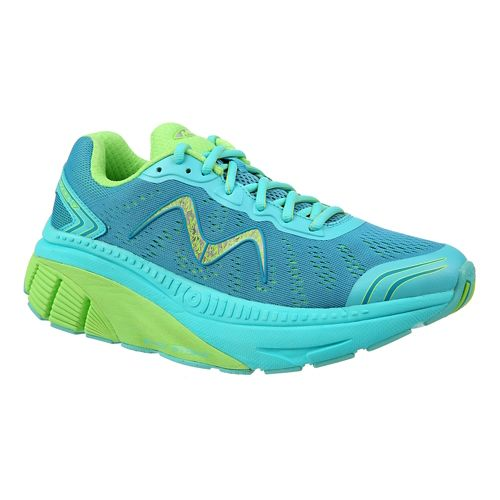 Womens MBT Zee 17 Running Shoe - Teal/Green 9.5