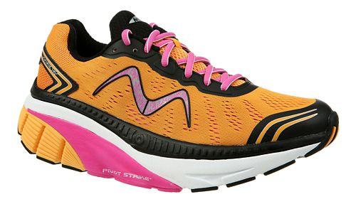 Womens MBT Zee 17 Running Shoe - Orange/Pink/Black 7