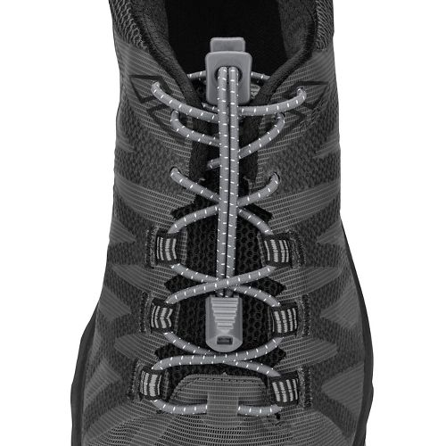 Nathan Run Laces Fitness Equipment - Steel Grey