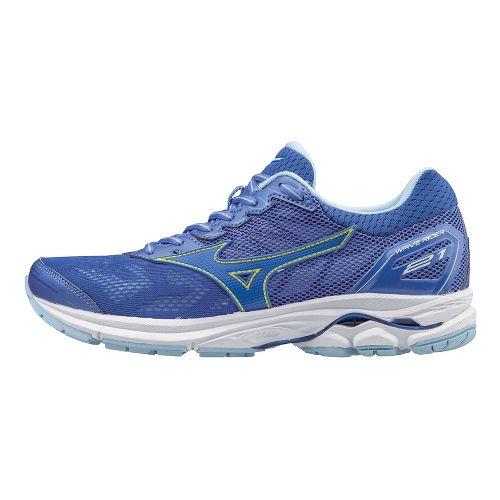Womens Mizuno Wave Rider 21 Running Shoe - Blue 10