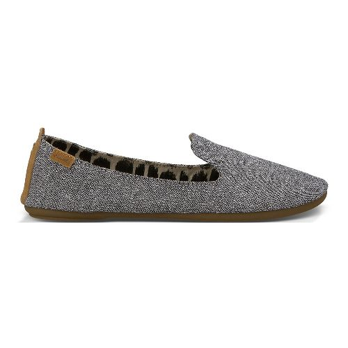 Womens Sanuk Piper Casual Shoe - Washed Black 8
