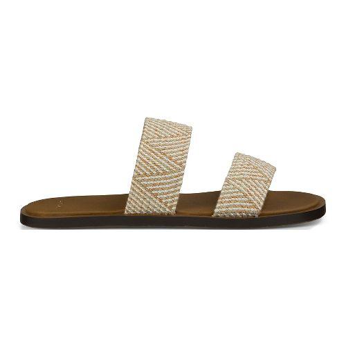 Womens Sanuk Yoga Gora Gora TX Sandals Shoe - Natural 11