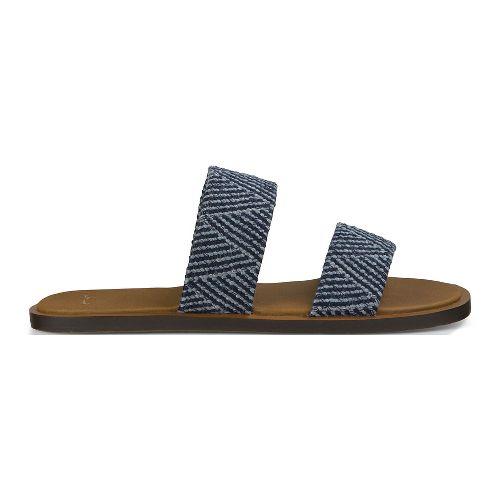 Womens Sanuk Yoga Gora Gora TX Sandals Shoe - Navy 10