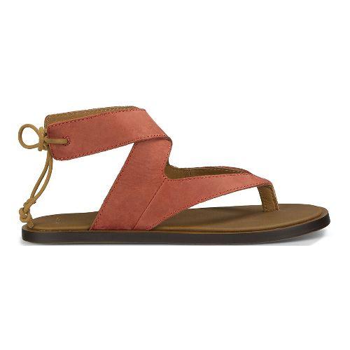 Womens Sanuk Yoga Mariposa Sandals Shoe - Auburn 5