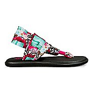 Womens Sanuk Yoga Sling 2 Sea Tapestry Sandals Shoe
