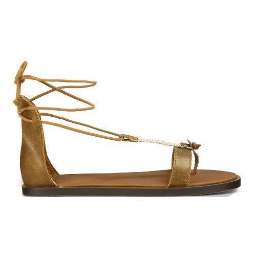 Womens Sanuk Yoga Tierra Sandals Shoe - Tobacco 11