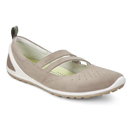 Womens Ecco BIOM Lite Mary Jane Walking Shoe - Moon Rock 37