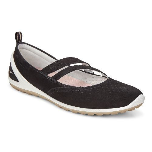 Womens Ecco BIOM Lite Mary Jane Walking Shoe - Black 36