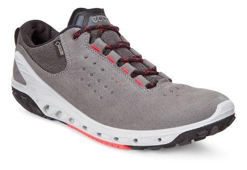 Womens Ecco BIOM Venture GTX Leather Casual Shoe - Dark Shadow 40