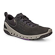 Womens Ecco BIOM Venture GTX Leather Casual Shoe - Black/Black 41