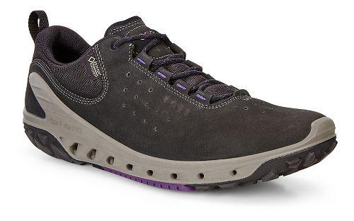 Womens Ecco BIOM Venture GTX Leather Casual Shoe - Black/Black 38