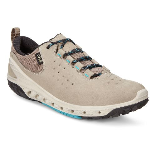 Womens Ecco BIOM Venture GTX Leather Casual Shoe - Moon Rock 40