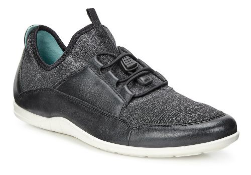 Womens Ecco Bluma Sport Toggle Casual Shoe - Black 35