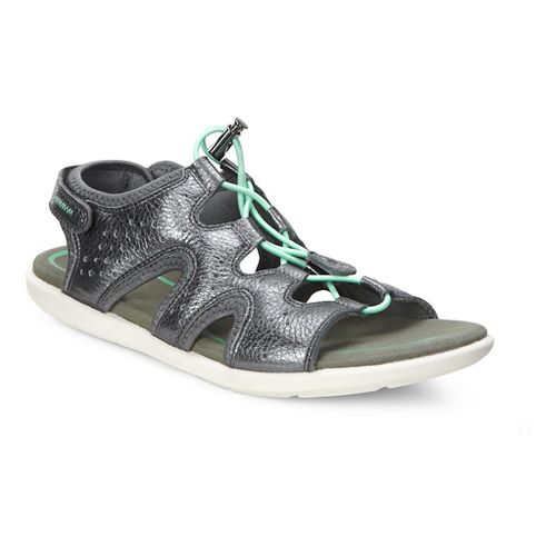 Womens Ecco Bluma Toggle Sandals Shoe - Dark Shadow 36