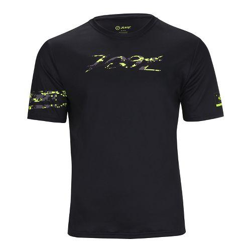 Mens Zoot Run LTD Tee Short Sleeve Technical Tops - High Viz Yellow M