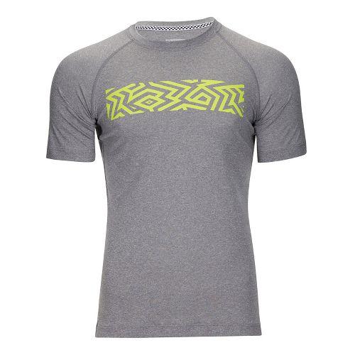 Mens Zoot Surfside Ink Tee Short Sleeve Technical Tops - Rock Shaka M