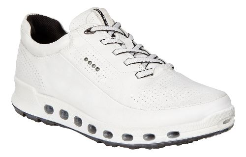 Womens Ecco Cool 2.0 GTX Leather Casual Shoe - White 40