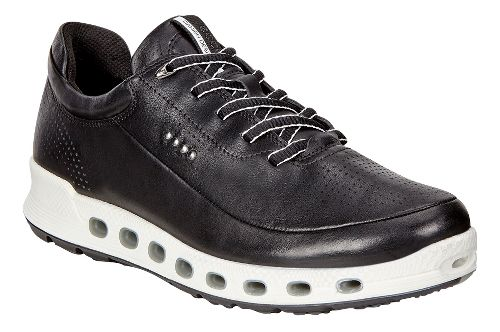 Womens Ecco Cool 2.0 GTX Leather Casual Shoe - Black 35