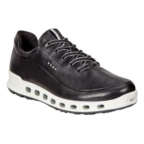 Womens Ecco Cool 2.0 GTX Leather Casual Shoe - Black 37