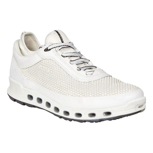 Womens Ecco Cool 2.0 GTX Textile Casual Shoe - White 41