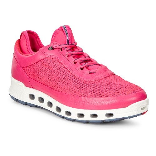 Womens Ecco Cool 2.0 GTX Textile Casual Shoe - Beetroot 40
