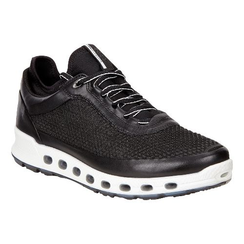 Womens Ecco Cool 2.0 GTX Textile Casual Shoe - Black 40