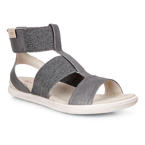 Womens Ecco Damara Ankle Strap Sandals Shoe - Dark Shadow 41