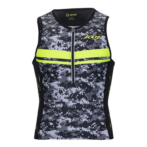 Mens Zoot Tri LTD Sleeveless & Tank Tops Technical Tops - High Viz Yellow L ...