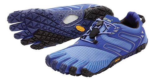 Womens Vibram FiveFingers V-Trail Running Shoe - Purple 41