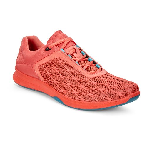 Womens Ecco Exceed Sport Walking Shoe - Coral Blush 37
