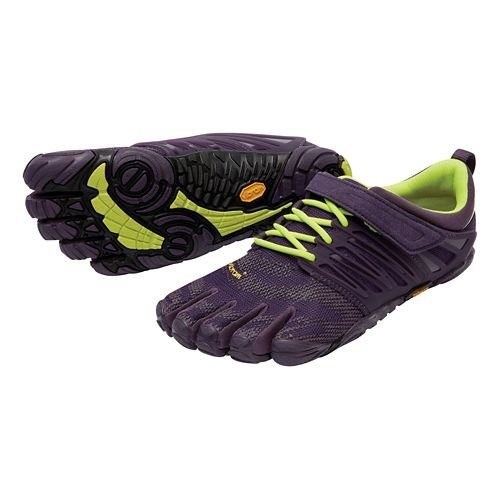 Womens Vibram FiveFingers V-Train Cross Training Shoe - Nightshade 38