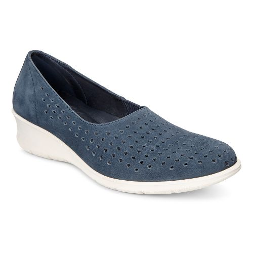 Womens Ecco Felicia Slip-On Casual Shoe - Marine 42