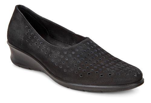 Womens Ecco Felicia Slip-On Casual Shoe - Black 40