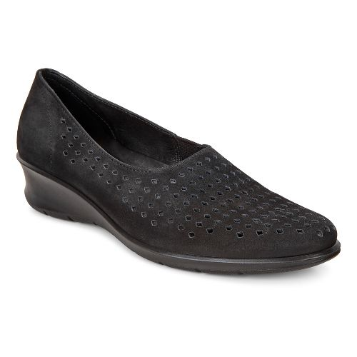 Womens Ecco Felicia Slip-On Casual Shoe - Black 35