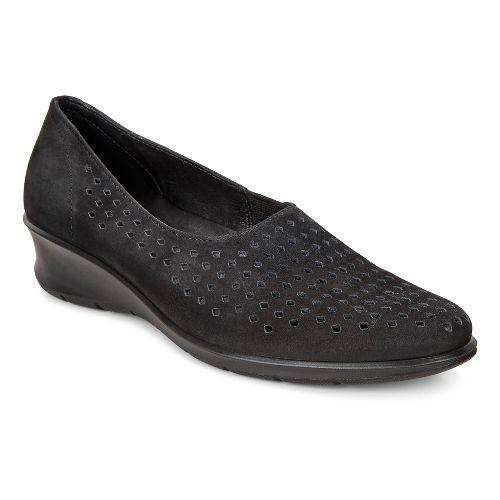 Womens Ecco Felicia Slip-On Casual Shoe - Black 41