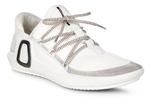 Womens Ecco Intrinsic 3 Textile Casual Shoe - White 38