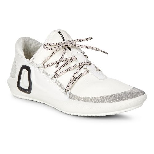 Womens Ecco Intrinsic 3 Textile Casual Shoe - White 35