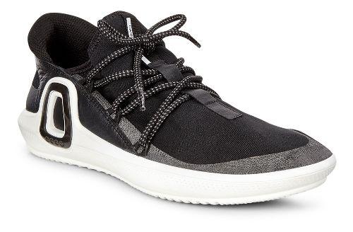 Womens Ecco Intrinsic 3 Textile Casual Shoe - Black 38