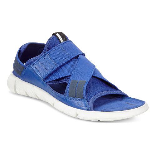 Womens Ecco Intrinsic Sandals Shoe - Mazarin Blue 40