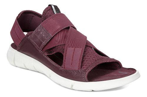 Womens Ecco Intrinsic Sandals Shoe - Bordeaux 36