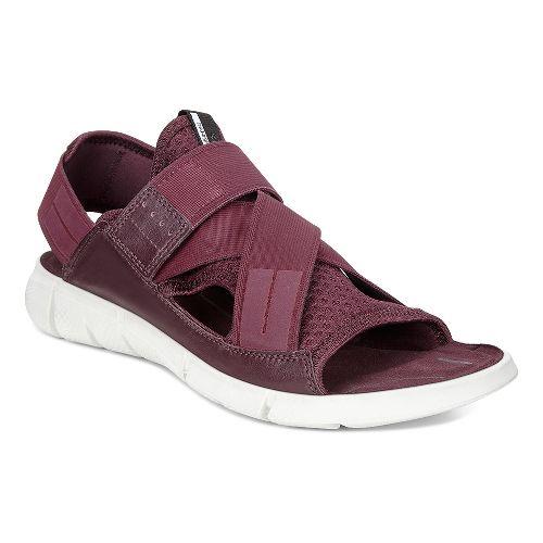 Womens Ecco Intrinsic Sandals Shoe - Bordeaux 38