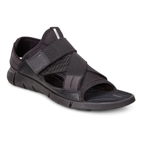Womens Ecco Intrinsic Sandals Shoe - Black 38