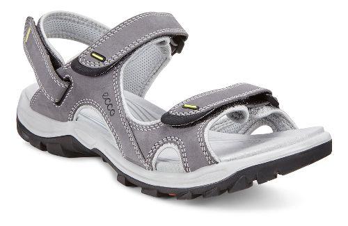 Womens Ecco Offroad Lite II Sandals Shoe - Titanium/Concrete 37