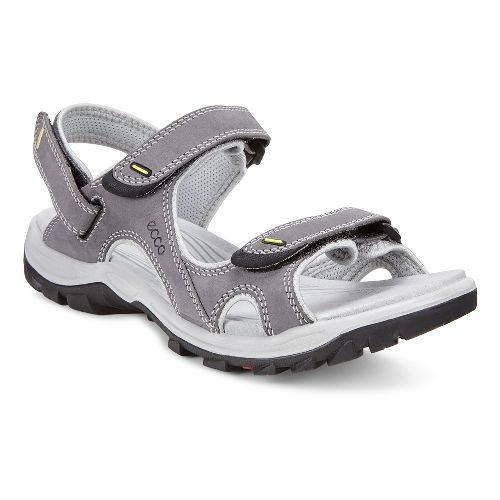 Womens Ecco Offroad Lite II Sandals Shoe - Titanium/Concrete 36