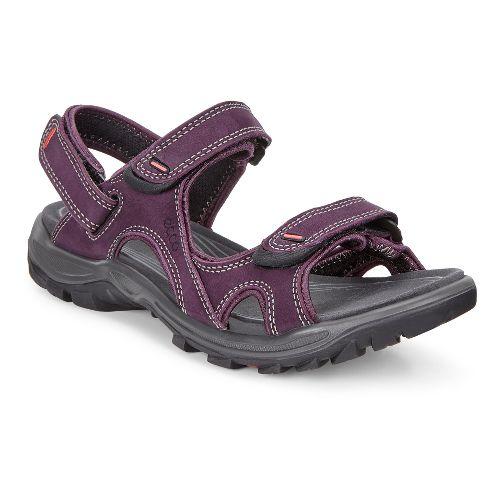 Womens Ecco Offroad Lite II Sandals Shoe - Mauve/Black 40
